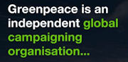 Greenpeace Action Page